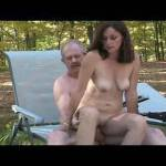 the fucking conclusion.....Candi Annie is doing a little outdoor nude photo shoot with AL but it turns into some real fall fun ...... fucking, sucking and licking for all to see - of course Al unloads all over Candi's beautiful mouth, lips etc.... right o
