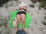 enjoying the summer lake michigan beach