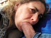 """Got my mouth around a good hard cock here """"P"""