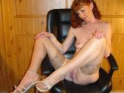 more stockings and heels hope you still like them  karen xx