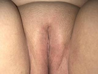 Wife just before getting fucked by a new friend