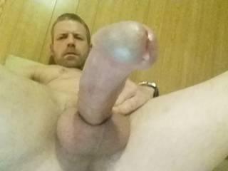 Dripping wet with pre cum