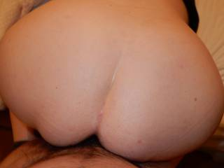 All in.. it feels so good.. my hubby is such a good lover and very naughty as well, he wants to share my pussy with strangers.  What do you think.. should I let him share my wet pussy?