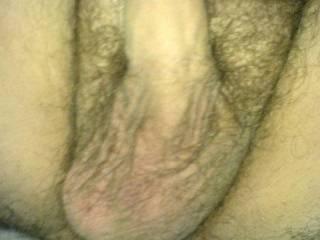Shot of my balls and shaft