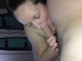 Amateur Video - She made his cock so big and sucking him